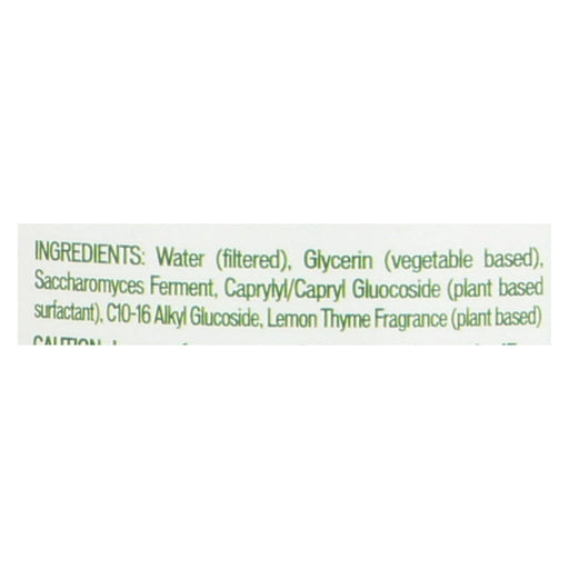 Biokleen Bac-out Fresh Natural Fabric Refresher - Lemon Thyme - Case Of 6 - 16 Oz - Handley Global Group, LLC