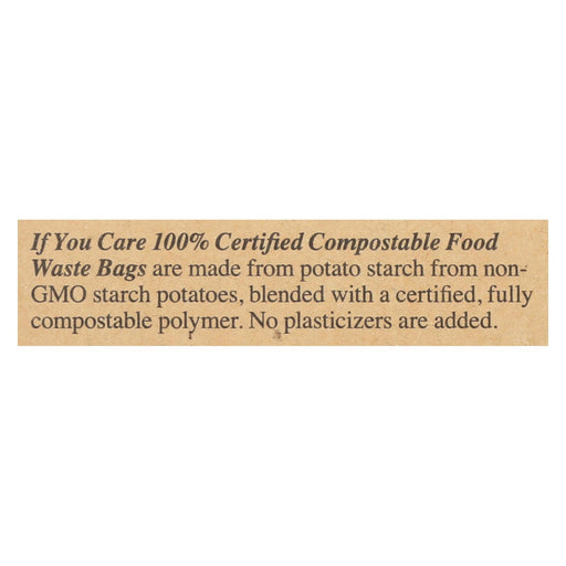 If You Care Trash Bags - Recycled - Case Of 12 - 30 Count - J. Rose Global