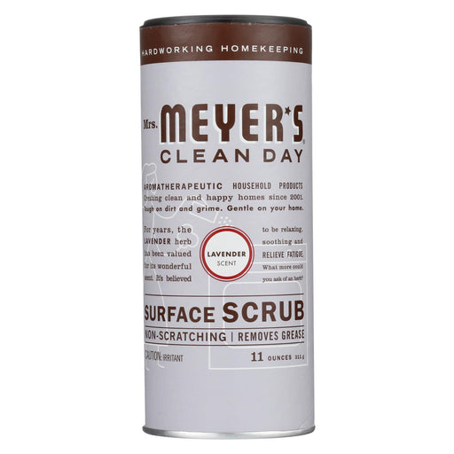Mrs. Meyer's Clean Day - Surface Scrub - Lavender - Case Of 6 - 11 Oz - J. Rose Global