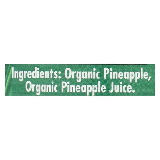 Native Forest Organic Pineapple - Crushed - Case Of 6 - 14 Oz. - J. Rose Global