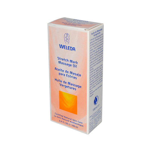 Weleda Stretch Mark Massage Oil - 3.4 Fl Oz - J. Rose Global