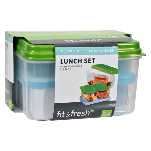 Fit And Fresh Lunch Set With Removable Ice Pack - 1 Container - J. Rose Global
