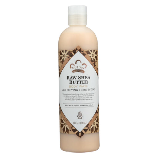 Nubian Heritage Body Wash - Raw Shea Butter - 13 Fl Oz - J. Rose Global