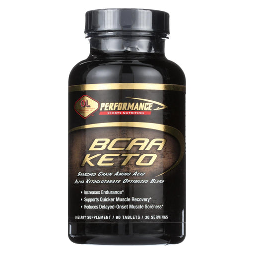 Olympian Labs Bcaa Keto 3 To 1 - 90 Tablets - J. Rose Global