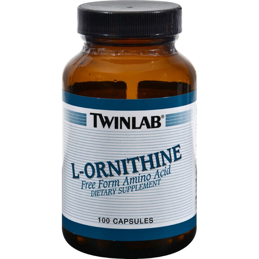 Twinlab L-ornithine - 500 Mg - 100 Capsules - J. Rose Global
