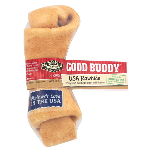 Castor And Pollux Good Buddy Rawhide Bone Dog Treat - Case Of 24 - J. Rose Global