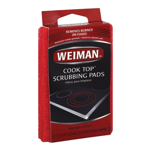 Weiman Pads - Cooktop Scrubbing - Case Of 6 - 3 Count - J. Rose Global