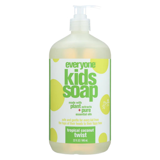 Eo Products - Everyone Soap For Kids - Tropical Coconut Twist - 32 Oz - J. Rose Global