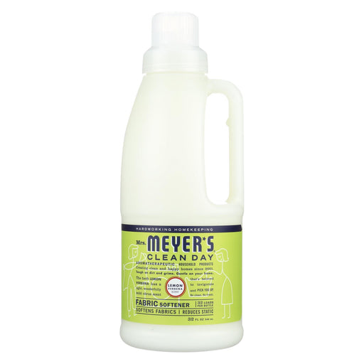 Mrs. Meyer's Clean Day - Fabric Softener - Lemon Verbena - 32 Oz - J. Rose Global