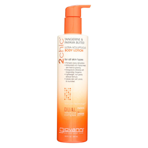 Giovanni Hair Care Products 2chic Body Lotion - Ultra-volupt - 8.5 Fl Oz - J. Rose Global