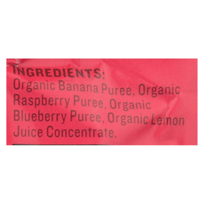 Peter Rabbit Organics Fruit Snacks - Raspberry, Banana And Blueberry - Case Of 10 - 4 Oz. - J. Rose Global