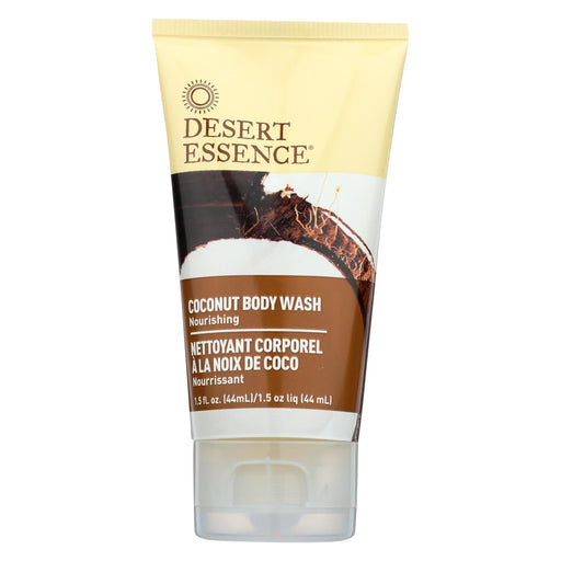 Desert Essence - Body Wash - Coconut - Travel Size - 1.5 Fl Oz - 1 Case - J. Rose Global