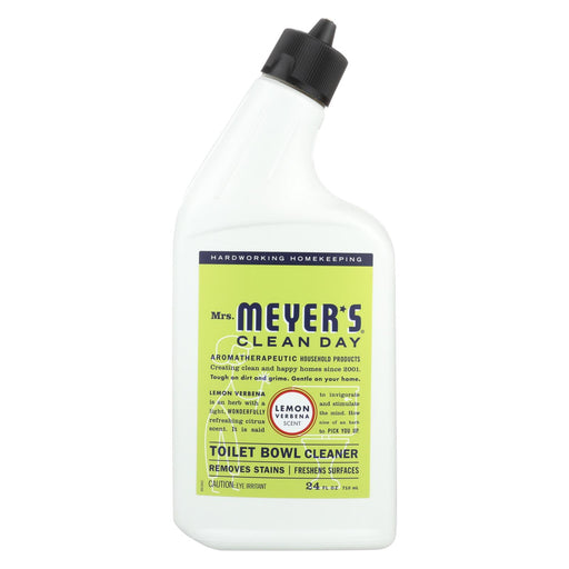 Mrs. Meyer's Clean Day - Toilet Bowl Cleaner - Lemon Verbena - 24 Fl Oz - J. Rose Global