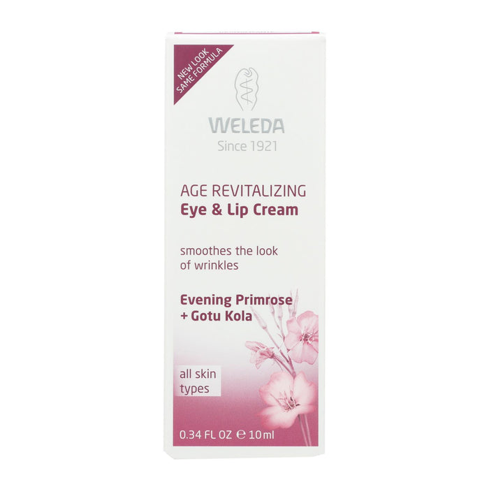 Weleda Eye And Lip Cream - Age Revitalizing - Evening Primrose - .34 Oz - J. Rose Global