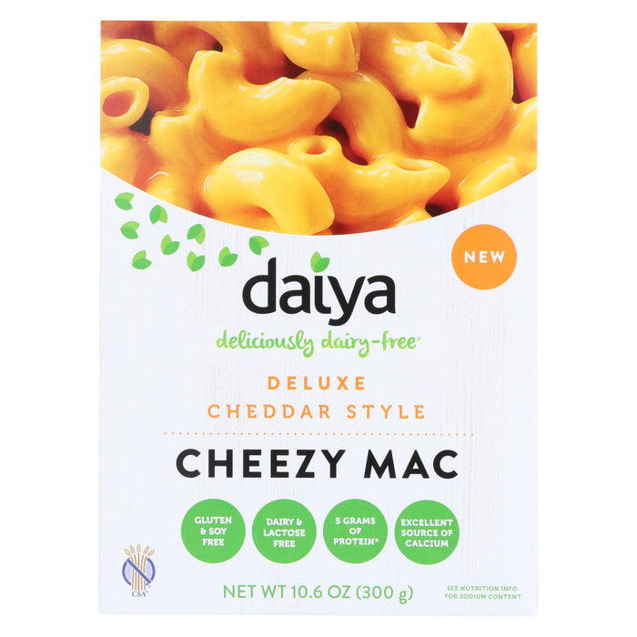 Daiya Foods - Cheezy Mac Deluxe - Cheddar Style - Dairy Free - 10.6 Oz. - Case Of 8 - J. Rose Global