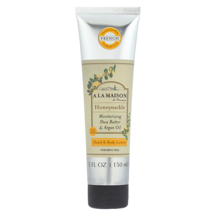 A La Maison - Hand And Body Lotion - Honeysuckle - 5 Fl Oz - Handley Global Group, LLC