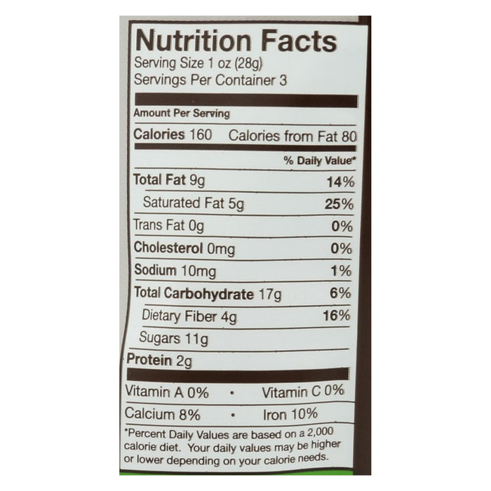 Go Raw - Organic Sprouted Cookies - Choco Crunch - Case Of 12 - 3 Oz. - J. Rose Global
