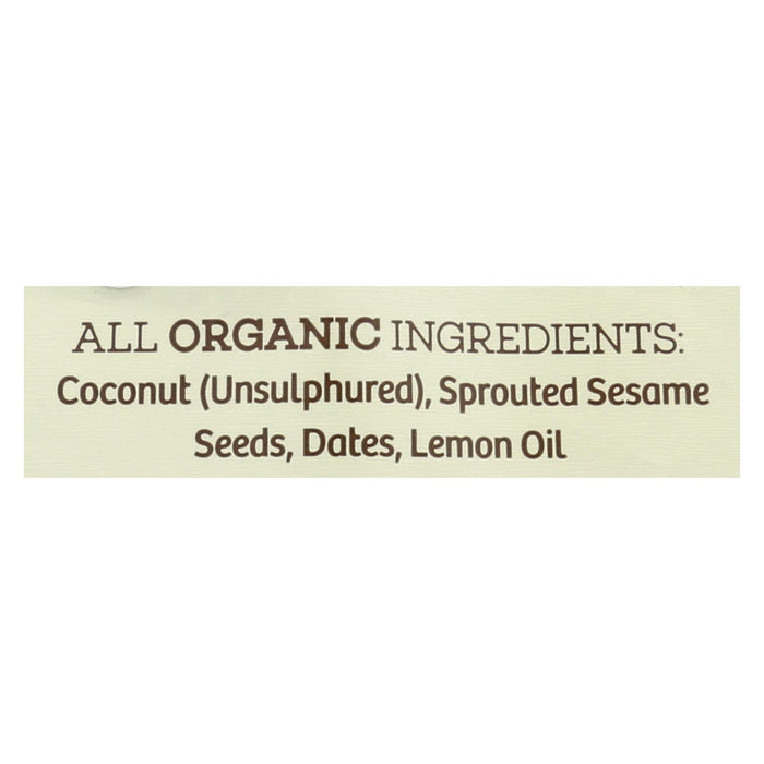 Go Raw - Organic Sprouted Cookies - Lemon - Case Of 12 - 3 Oz. - J. Rose Global
