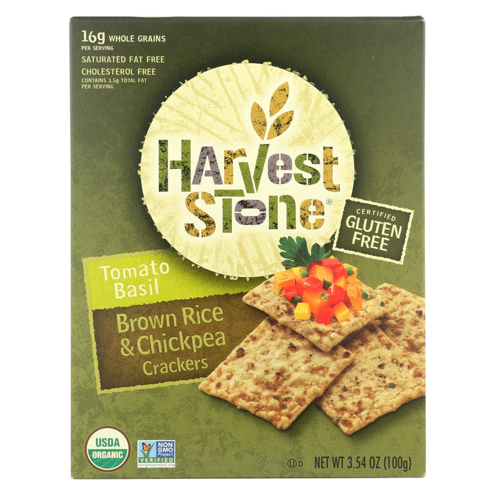 Harvest Stone Harvest Stone Crispy Mix Snack - Tomato Basil - Case Of 6 - 3.54 Oz. - J. Rose Global