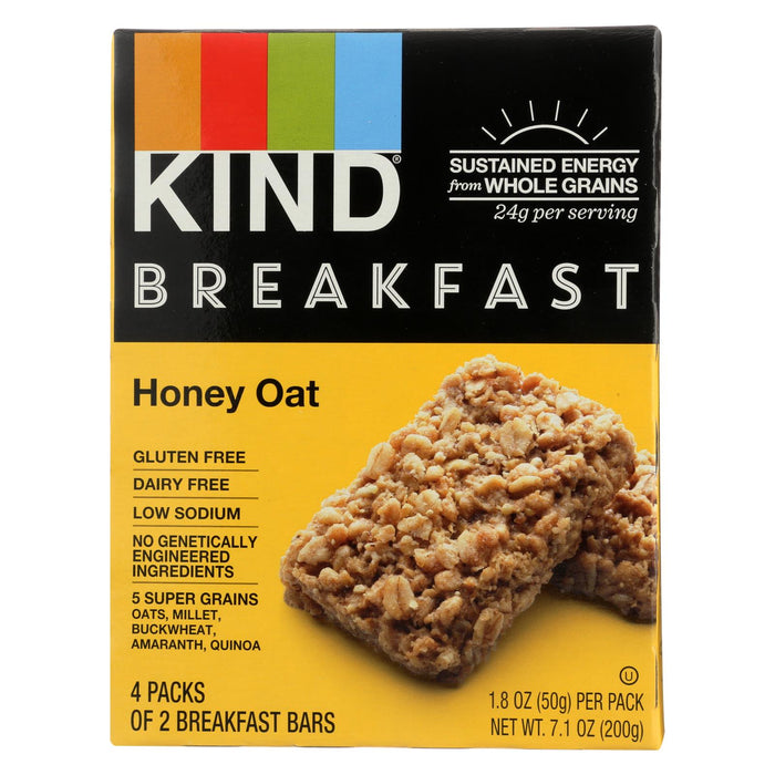 Kind Honey Oat - Case Of 8 - 1.8 Oz. - J. Rose Global
