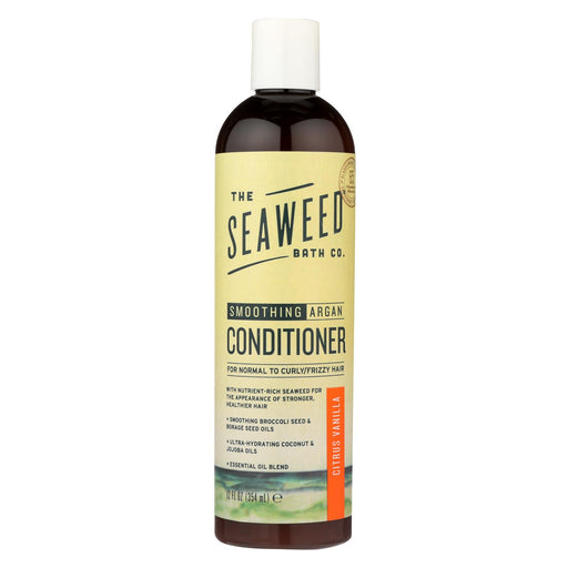 The Seaweed Bath Co Conditioner - Smoothing - Citrus - Vanilla - 12 Fl Oz - J. Rose Global