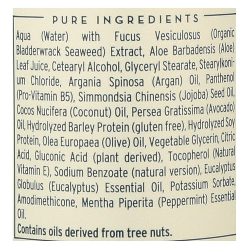 The Seaweed Bath Co Conditioner - Balancing - Eucalyptus - Pepper - 12 Fl Oz - J. Rose Global