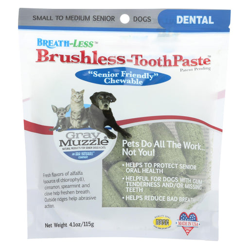 Ark Naturals - Breath-less Brushless Toothpaste - 4.1 Oz - Handley Global Group, LLC
