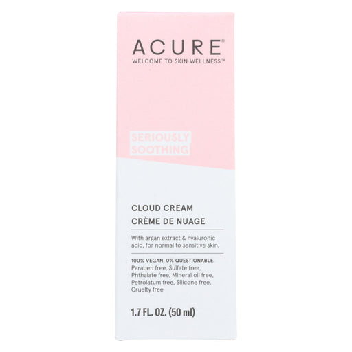 Acure - Cream - Soothing - Cloud - 1.7 Fl Oz - J. Rose Global