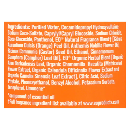 Everyone Kid Soap - Orange Squeeze - Case Of 1 - 16 Fl Oz. - J. Rose Global