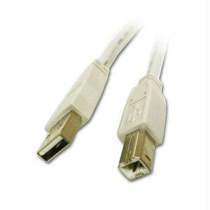 C2g 3m Usb Cable-usb 2.0 A To B Cable White (9.8ft)-connect Your Usb Device To T - J. Rose Global