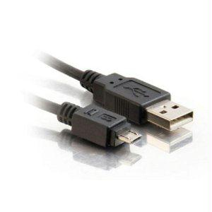 C2g 1m Usb Cable-usb 2.0 A Male To Micro Usb B Male Cable (3.3ft)-connect And Ch - J. Rose Global