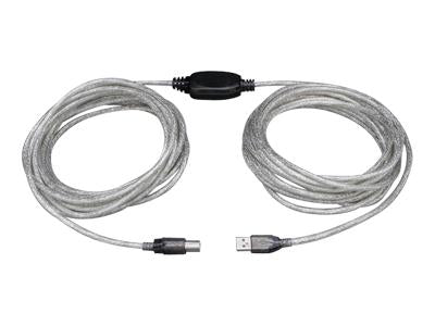 Tripp Lite Usb 2.0 Hi-speed A-b Active Repeater Cable (m-m) 36-ft. - J. Rose Global