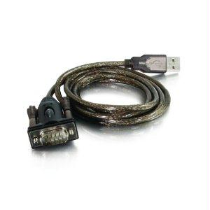 C2g 5ft Trulink Usb To Db9 Male Serial Adapter Cable - J. Rose Global
