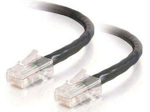 C2g 15ft Cat5e Non-booted Unshielded (utp) Network Patch Cable - Black - J. Rose Global