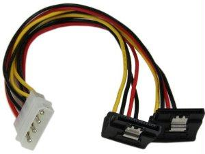 Startech Power Two Sata Drives From A Single Lp4 Power Supply Connector - Lp4 To Dual Sat - J. Rose Global