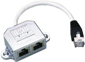 Intellinet Allows Two Rj45 Ports To Share One Cat5 Shielded Network Cable - J. Rose Global
