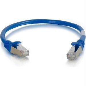 Legrand C2g 12ft Cat6a Snagless Shielded (stp) Network Patch Cable - Blue - J. Rose Global
