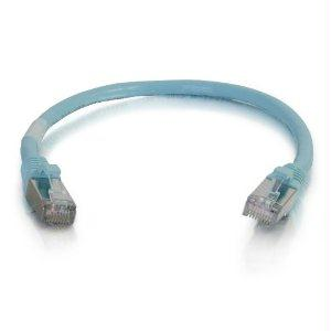 Legrand C2g 2ft Cat6a Snagless Shielded (stp) Network Patch Cable - Aqua - J. Rose Global