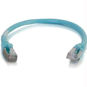 Legrand C2g 25ft Cat6a Snagless Shielded (stp) Network Patch Cable - Aqua - J. Rose Global