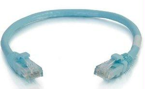 Legrand C2g 10ft Cat6a Snagless Unshielded (utp) Network Patch Ethernet Cable - Aqua - 1 - J. Rose Global