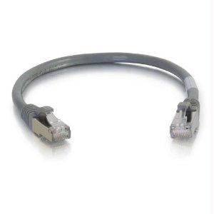 Legrand C2g 2ft Cat6 Snagless Shielded (stp) Network Patch Cable - Gray - J. Rose Global