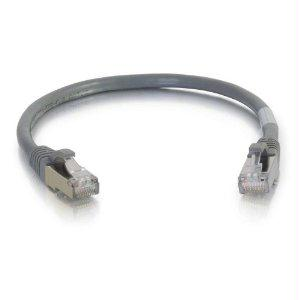 Legrand C2g 8ft Cat6 Snagless Shielded (stp) Network Patch Cable - Gray - J. Rose Global