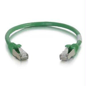 Legrand C2g 5ft Cat6 Snagless Shielded (stp) Network Patch Cable - Green - J. Rose Global