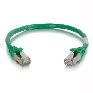 Legrand C2g 8ft Cat6 Snagless Shielded (stp) Network Patch Cable - Green - J. Rose Global