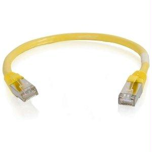 Legrand C2g 7ft Cat6 Snagless Shielded (stp) Network Patch Cable - Yellow - J. Rose Global