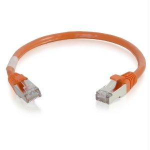 Legrand C2g 8ft Cat6 Snagless Shielded (stp) Network Patch Cable - Orange - J. Rose Global