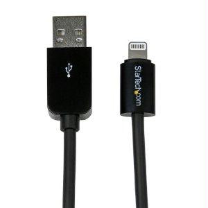 Startech 0.3m Black 8-pin Lightning To Usb Cable - J. Rose Global