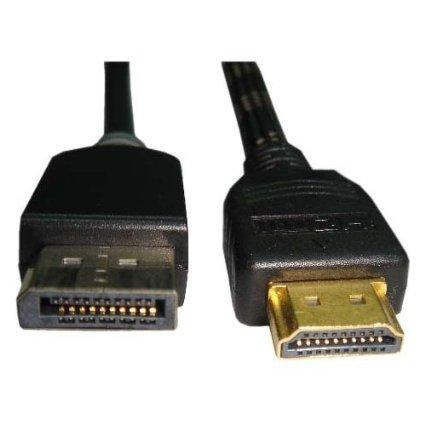 Unirise Usa, Llc This Displayport Male To Hdmi Male Cable Allows You To Connect A Device With A D - J. Rose Global