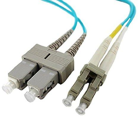 Axiom Lc-sc Om4 Fiber Cable 8m - J. Rose Global