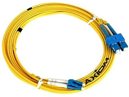 Axiom Lc-st Singlemode Duplex Os2 9-125 Fiber Optic Cable 7m - J. Rose Global